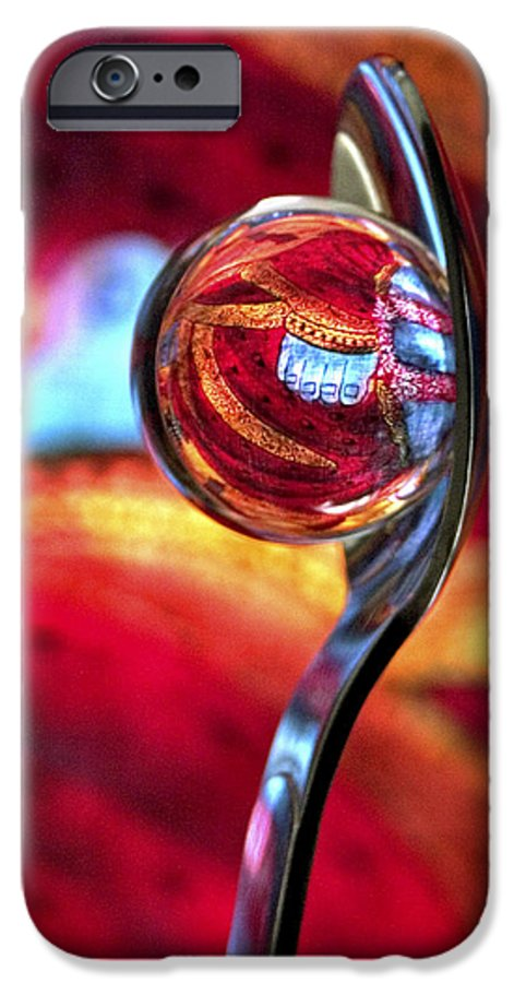 Ball IPhone 6 Case featuring the photograph Ganesh Spoon by Skip Hunt
