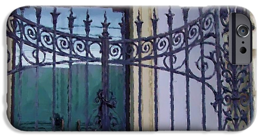 Gate IPhone 6 Case featuring the photograph Gated by Debbi Granruth