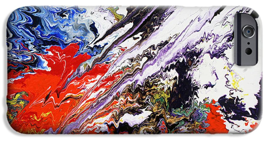 Fusionart IPhone 6 Case featuring the painting Genesis by Ralph White