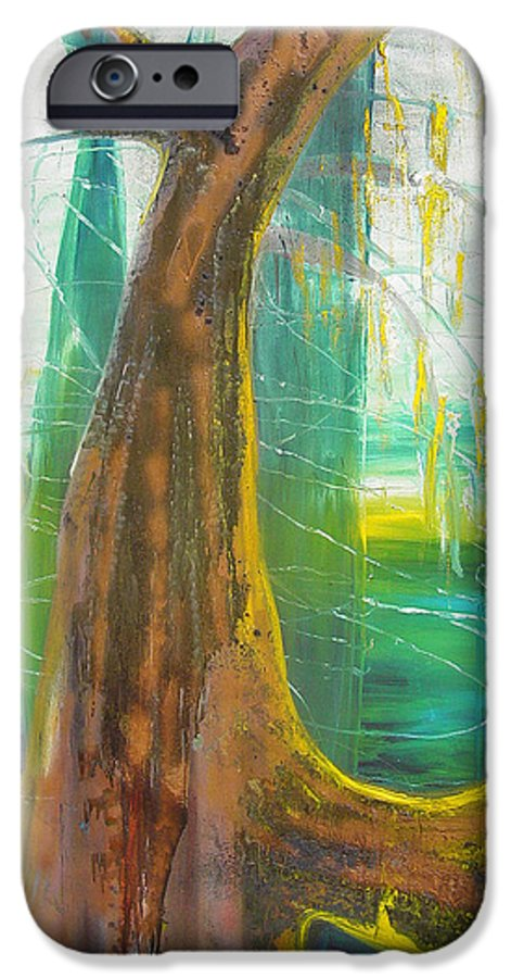 Landscape IPhone 6 Case featuring the painting Georgia Morning by Peggy Blood