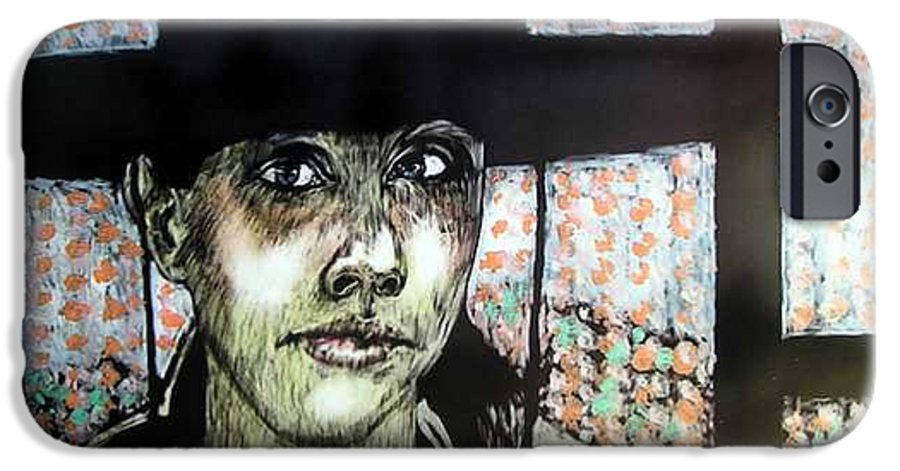 IPhone 6 Case featuring the mixed media Geri by Chester Elmore