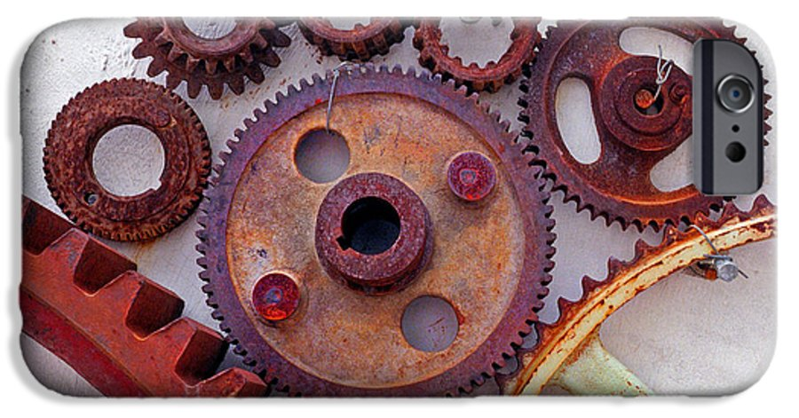 Gears IPhone 6 Case featuring the photograph Ghost by Skip Hunt