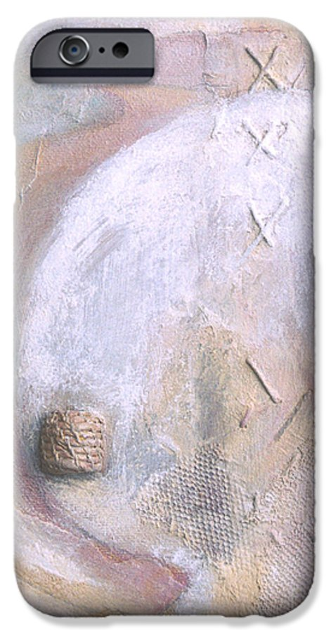 Collage IPhone 6 Case featuring the painting Give And Receive by Kerryn Madsen-Pietsch
