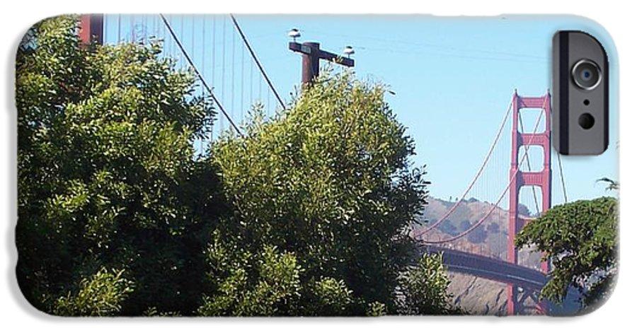 Golden Gate Bridge IPhone 6 Case featuring the photograph Golden Gate by Elizabeth Klecker