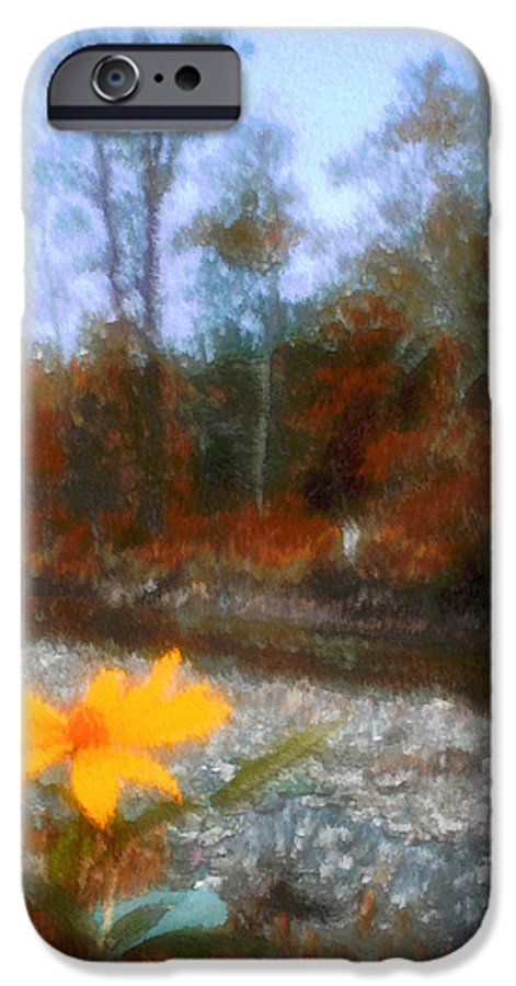 Autumn IPhone 6 Case featuring the photograph Goodbye Summer by Kenneth Krolikowski