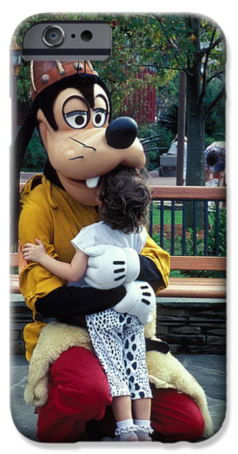 Disney IPhone 6 Case featuring the photograph Goofy Love by Carl Purcell