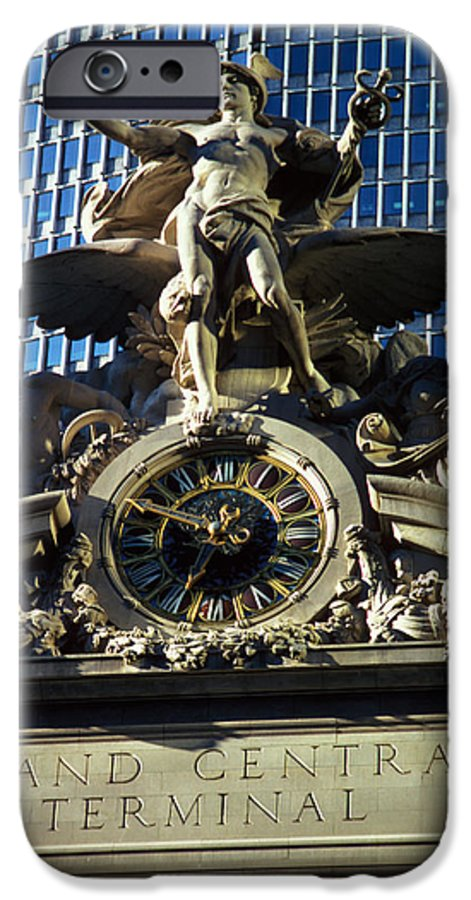 Train IPhone 6 Case featuring the photograph Grand Central Station by Carl Purcell