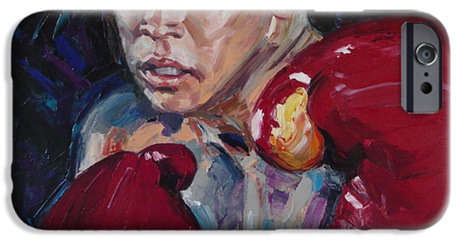 Figurative IPhone 6 Case featuring the painting Great Ali by Sergey Ignatenko