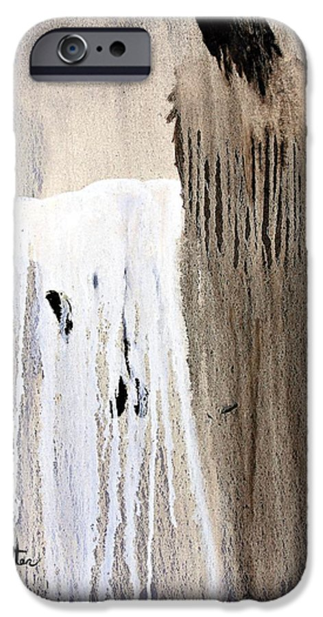 Native American IPhone 6 Case featuring the painting Great Spirit by Patrick Trotter