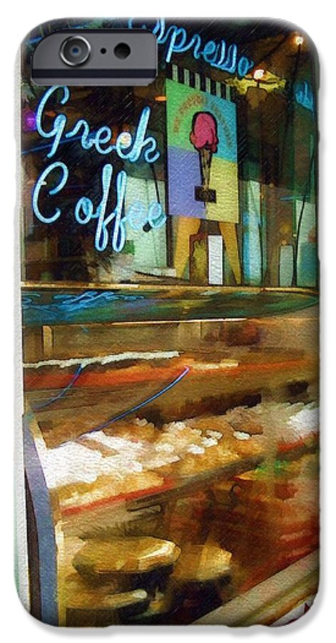 Greek IPhone 6 Case featuring the photograph Greek Coffee by Sandy MacGowan