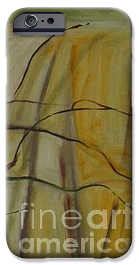 Spring Young Trees Saplings Trees IPhone 6 Case featuring the painting Green Sonnet by Leila Atkinson