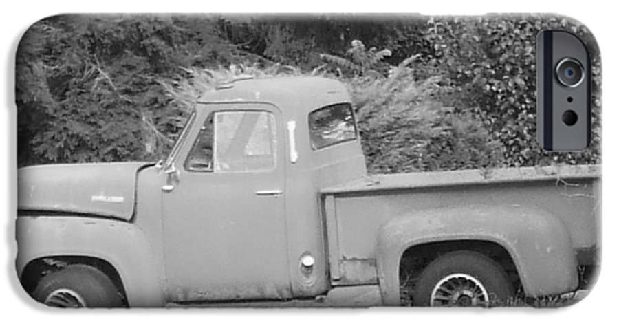Truck IPhone 6 Case featuring the photograph Grounded Pickup by Pharris Art