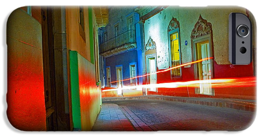 Shadow IPhone 6 Case featuring the photograph Guanajuato Night by Skip Hunt