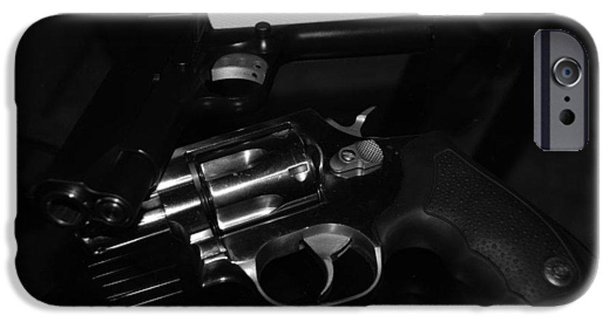 Guns IPhone 6 Case featuring the photograph Guns And More Guns by Rob Hans