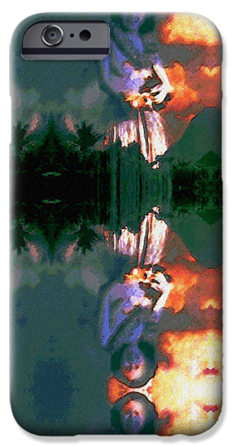 Rainbow Colors Digital IPhone 6 Case featuring the photograph Haili Moe by Kenneth Grzesik