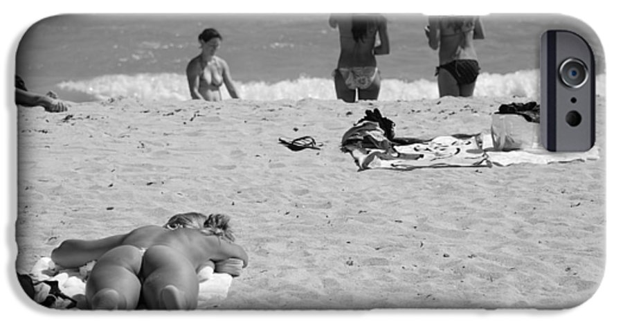 Miami IPhone 6 Case featuring the photograph Half Dead Half Alive by Rob Hans