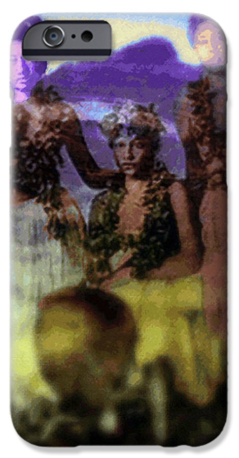 Tropical Interior Design IPhone 6 Case featuring the photograph He Hohona Aeoia by Kenneth Grzesik