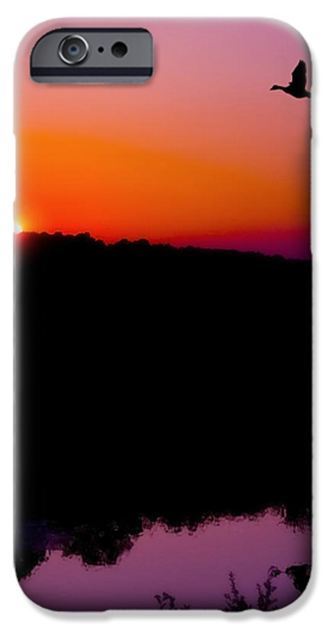 Sunset IPhone 6 Case featuring the photograph Heading Home by Kenneth Krolikowski