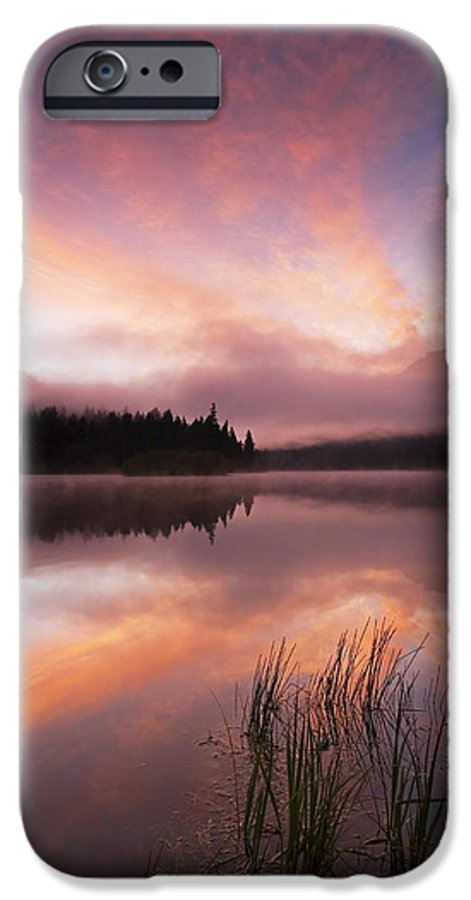 Sunrise IPhone 6 Case featuring the photograph Heavenly Skies by Mike Dawson