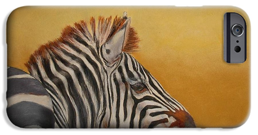 Africa IPhone 6 Case featuring the painting Hello Africa by Ceci Watson