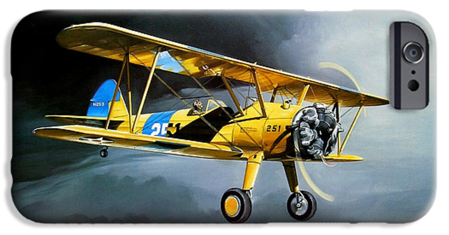 Military IPhone 6 Case featuring the painting Here Comes The Sun by Marc Stewart