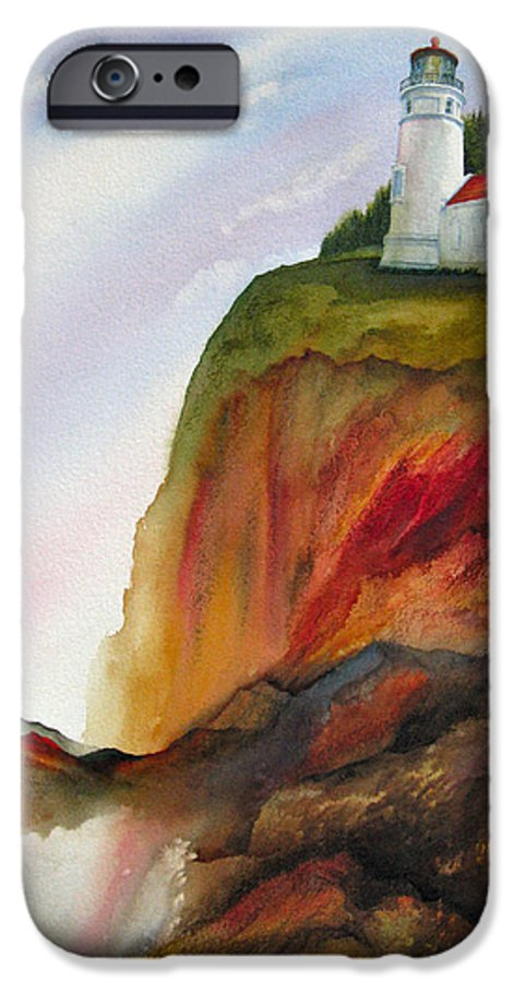 Coastal IPhone 6 Case featuring the painting High Ground by Karen Stark