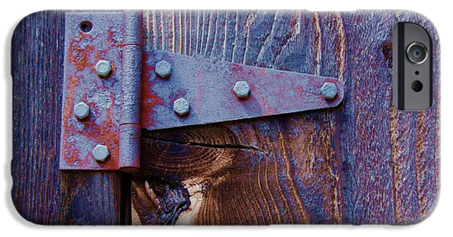 Hinge IPhone 6 Case featuring the photograph Hinged by Debbi Granruth