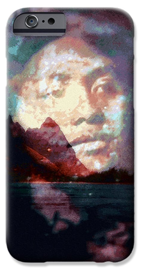Tropical Interior Design IPhone 6 Case featuring the photograph Ho Okahiko by Kenneth Grzesik