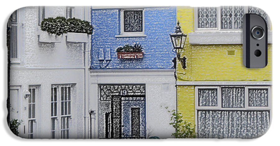 House IPhone 6 Case featuring the photograph Houses by Amanda Barcon