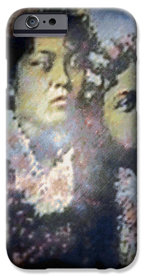Tropical Interior Design IPhone 6 Case featuring the photograph Hula Kaika Ma Hine by Kenneth Grzesik