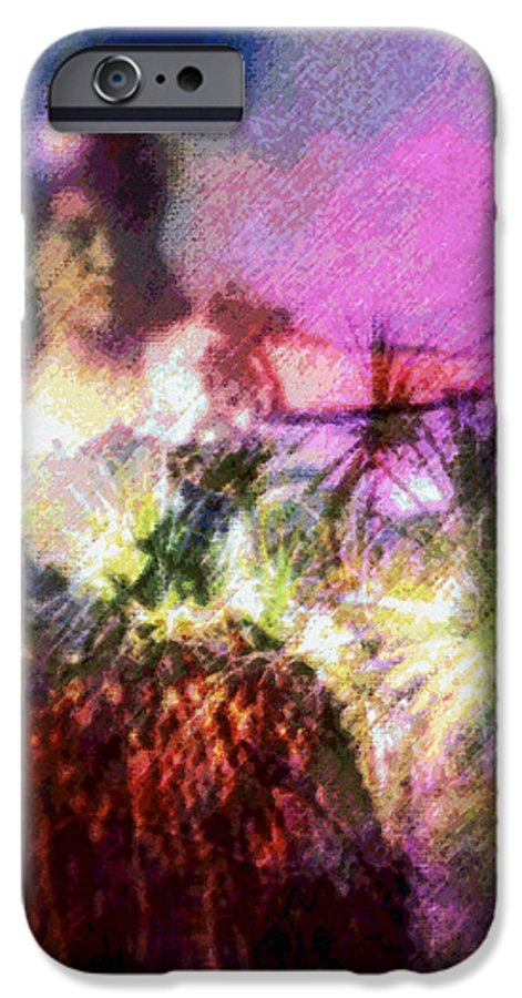 Tropical Interior Design IPhone 6 Case featuring the photograph Hula Mai Oe by Kenneth Grzesik