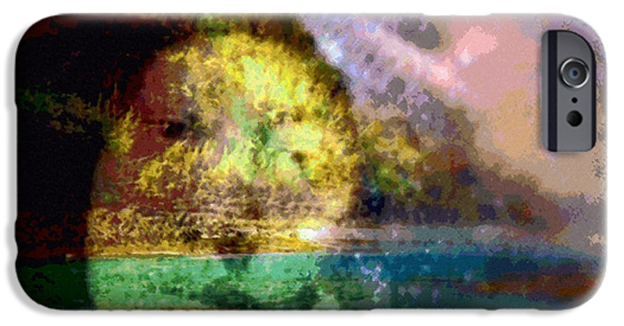 Tropical Interior Design IPhone 6 Case featuring the photograph I Ini O Ka Naau by Kenneth Grzesik