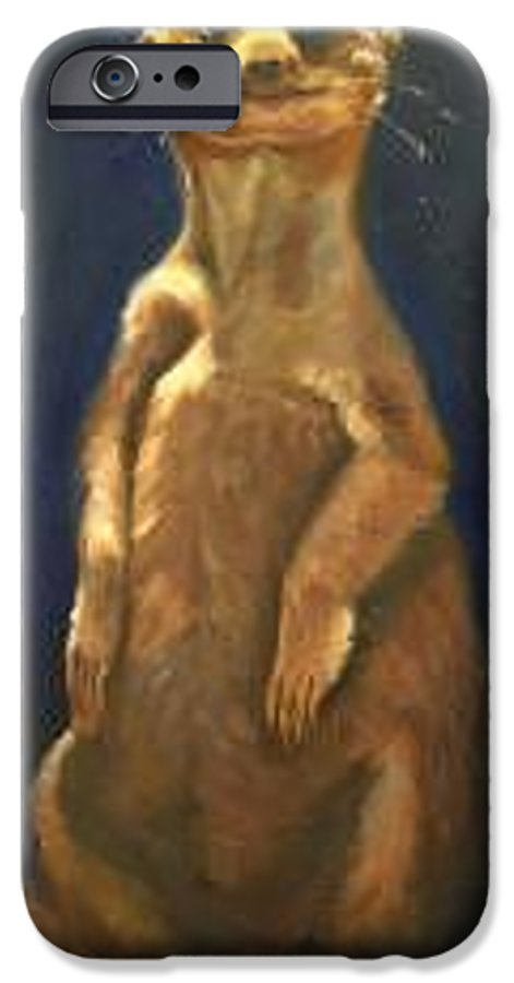 For Availability And Prices Of Limited Edition Prints/giclees IPhone 6 Case featuring the painting I See You by Greg Neal