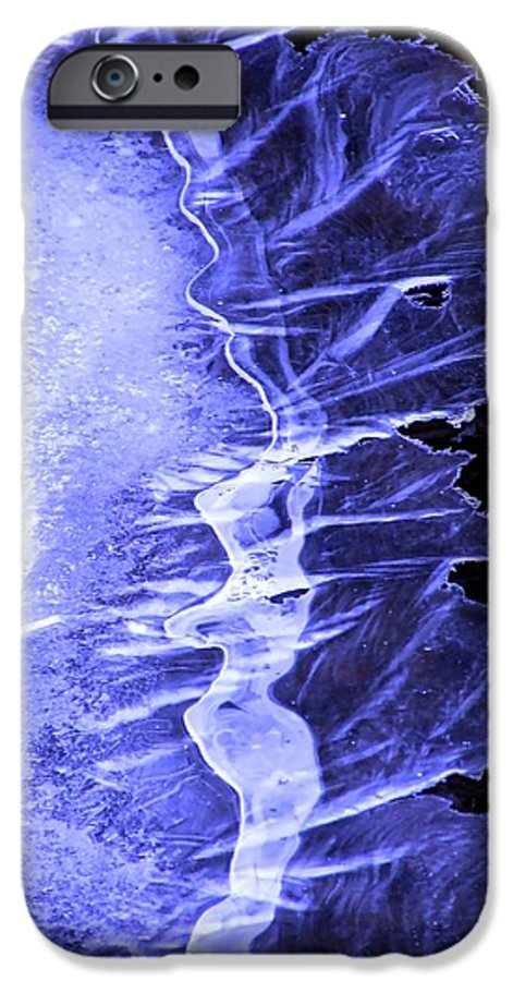 Ice IPhone 6 Case featuring the photograph Blue Ice by Tiffany Vest