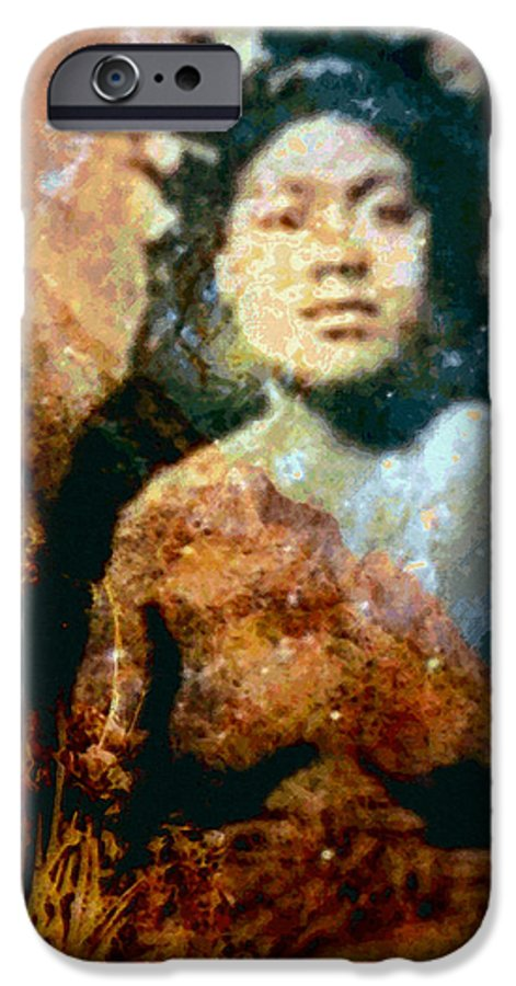 Tropical Interior Design IPhone 6 Case featuring the photograph Ike Papalua by Kenneth Grzesik
