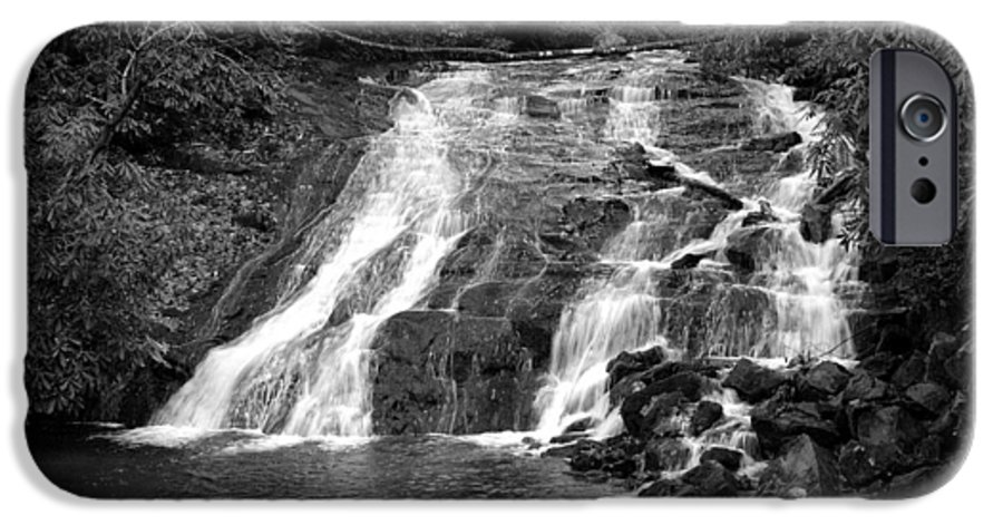 Nature IPhone 6 Case featuring the photograph Indian Falls At Deep Creek by Kathy Schumann