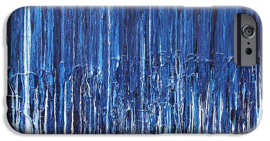 Fusionart IPhone 6 Case featuring the painting Indigo Soul by Ralph White