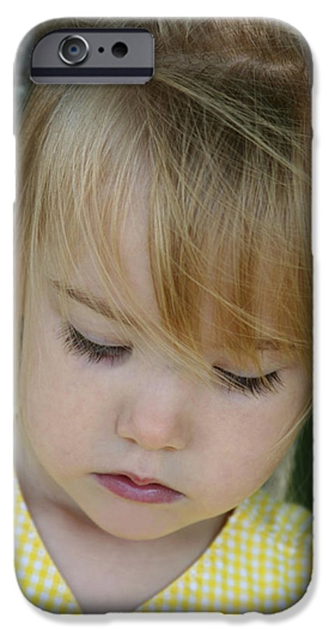 Angelic IPhone 6 Case featuring the photograph Innocence II by Margie Wildblood
