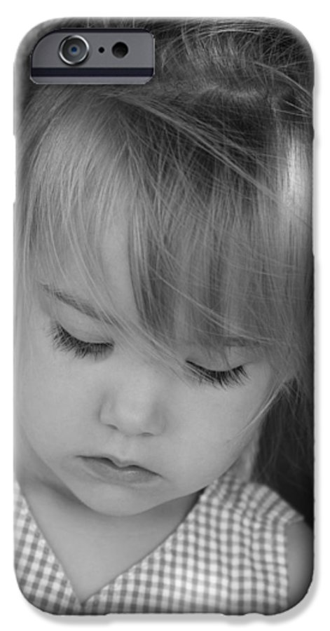 Angelic IPhone 6 Case featuring the photograph Innocence by Margie Wildblood