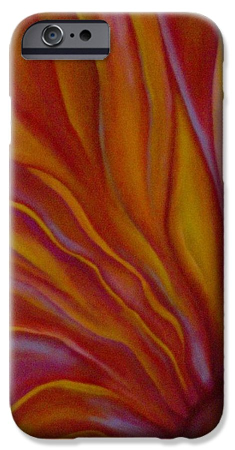 Floral IPhone 6 Case featuring the painting Internal Floral by Sidra Myers