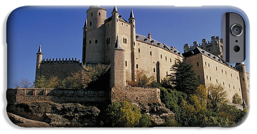 Royal IPhone 6 Case featuring the photograph Isabella's Castle In Segovia by Carl Purcell