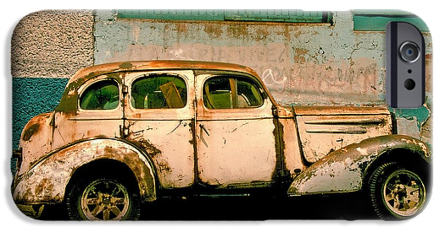 Skip IPhone 6 Case featuring the photograph Jalopy by Skip Hunt