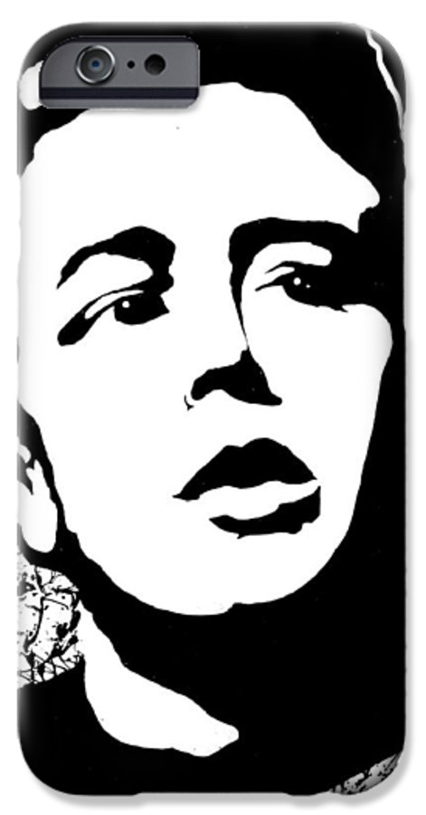 James Dean IPhone 6 Case featuring the painting James Dean by Curtiss Shaffer