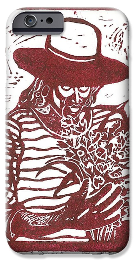 Jannie IPhone 6 Case featuring the painting Jannie by Everett Spruill