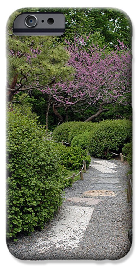 Japanese Garden IPhone 6 Case featuring the photograph Japanese Garden I by Kathy Schumann