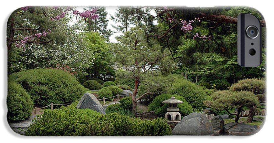 Japanese Garden IPhone 6 Case featuring the photograph Japanese Garden IIi by Kathy Schumann