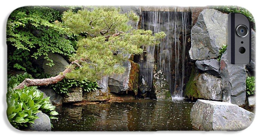 Japanese Garden IPhone 6 Case featuring the photograph Japanese Garden V by Kathy Schumann
