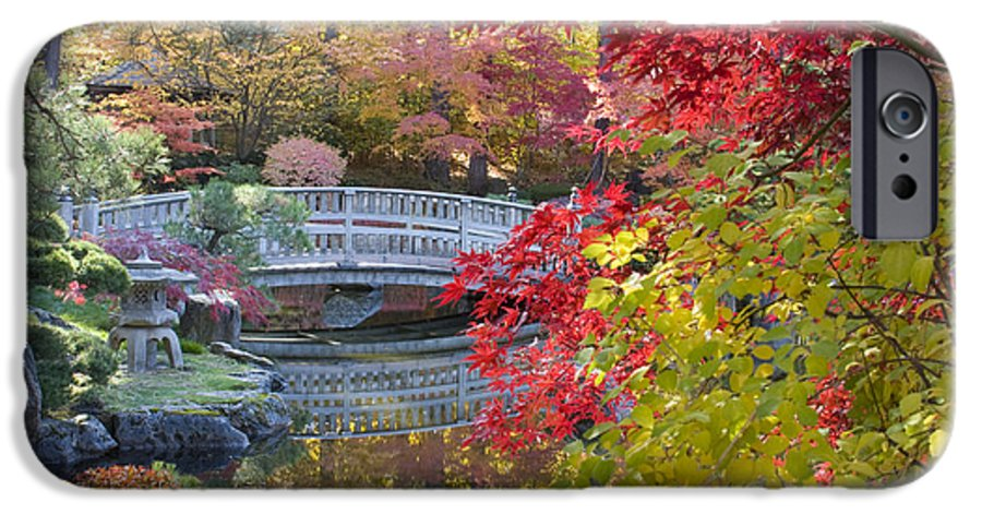 Gardens IPhone 6 Case featuring the photograph Japanese Gardens by Idaho Scenic Images Linda Lantzy