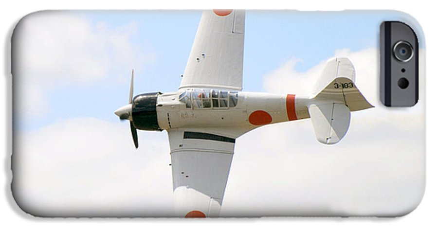 Airplanes IPhone 6 Case featuring the photograph Japanese Zero by Larry Keahey