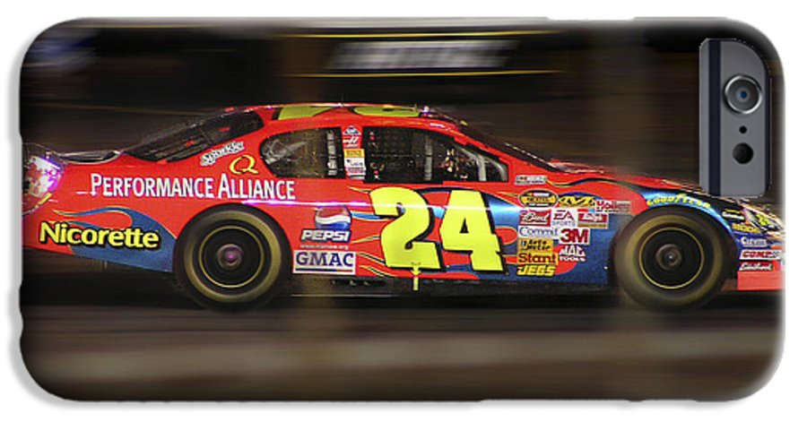 Jeff Gordon IPhone 6 Case featuring the photograph Jeff Gordons Cup Car by Kenneth Krolikowski